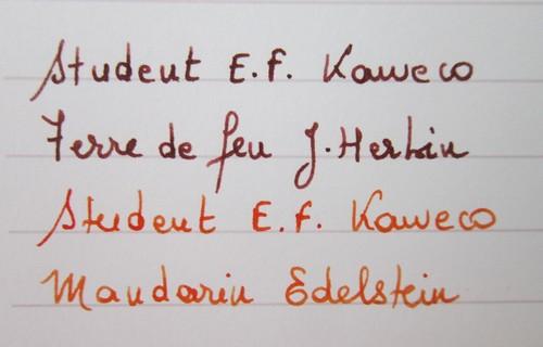 40b. Kaweco Student - Ecriture